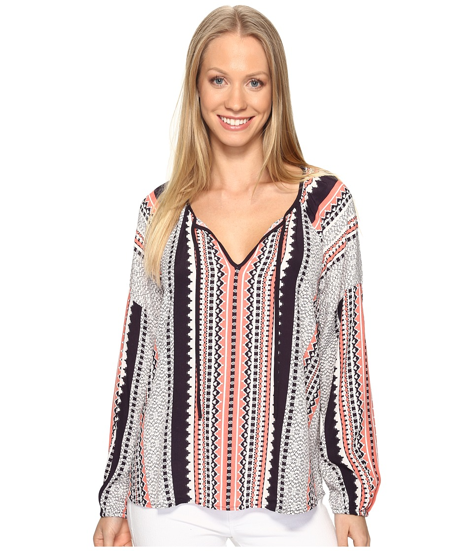 Sanctuary - Patchwork Boho Blouse (Lacey) Women's Blouse