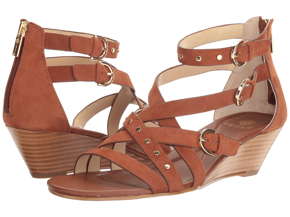 Isola - Petra (Tobacco King Suede) Women's Sandals