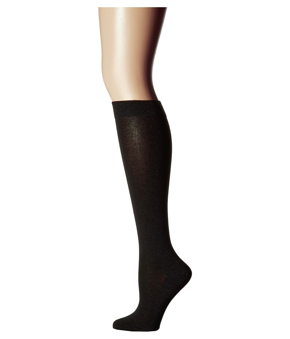 Falke - #1 Lurex Cashmere Knee High (Luxury) (Black) Women's Knee High Socks Shoes
