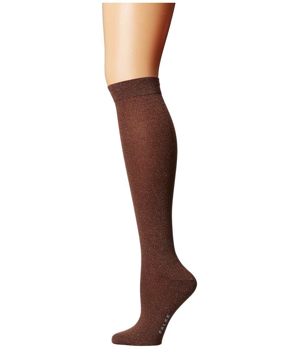 Falke - #1 Lurex Cashmere Knee High (Luxury) (Praline) Women's Knee High Socks Shoes