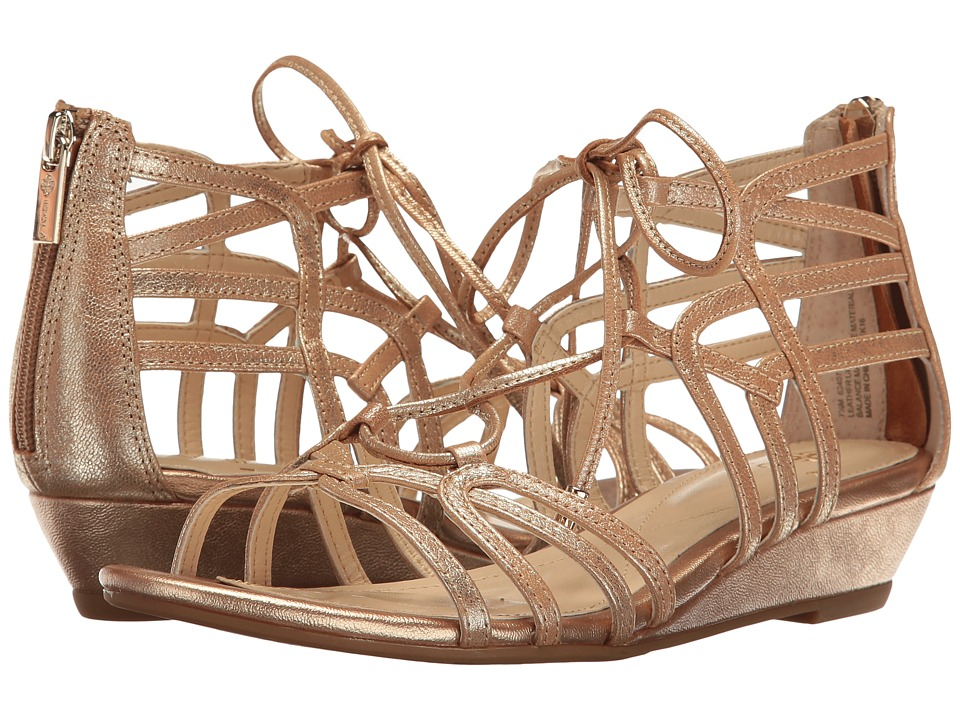 Isola - Elisia (Gold Grid Metallic) Women's Sandals