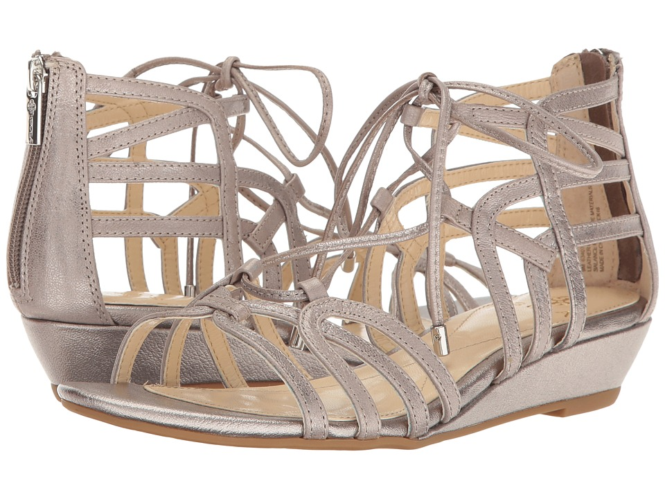 Isola - Elisia (Anthracite Grid Metallic) Women's Sandals