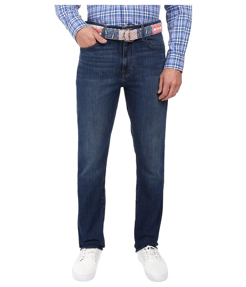 Vineyard Vines - Lewis Bay Wash Stretch Denim in Moonshine (Moonshine) Men's Jeans