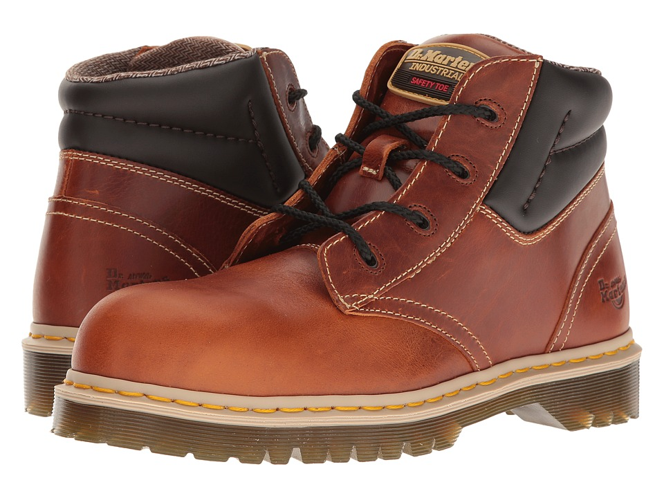 Dr. Martens - Icon 7B09 (Tan Industrial Waxy) Men's Boots