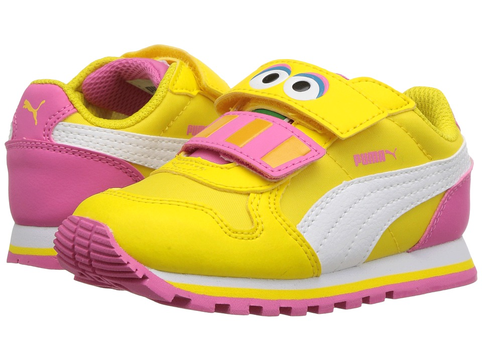 Puma Kids - St Runner Big Bird Hoc V INF (Toddler) (Dandelion/Puma White) Kids Shoes
