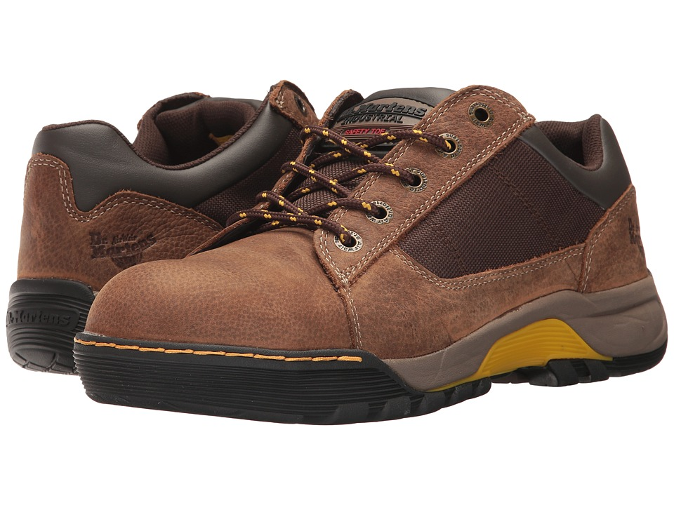 Dr. Martens - Piton ST (Brown Overlord) Men's Shoes