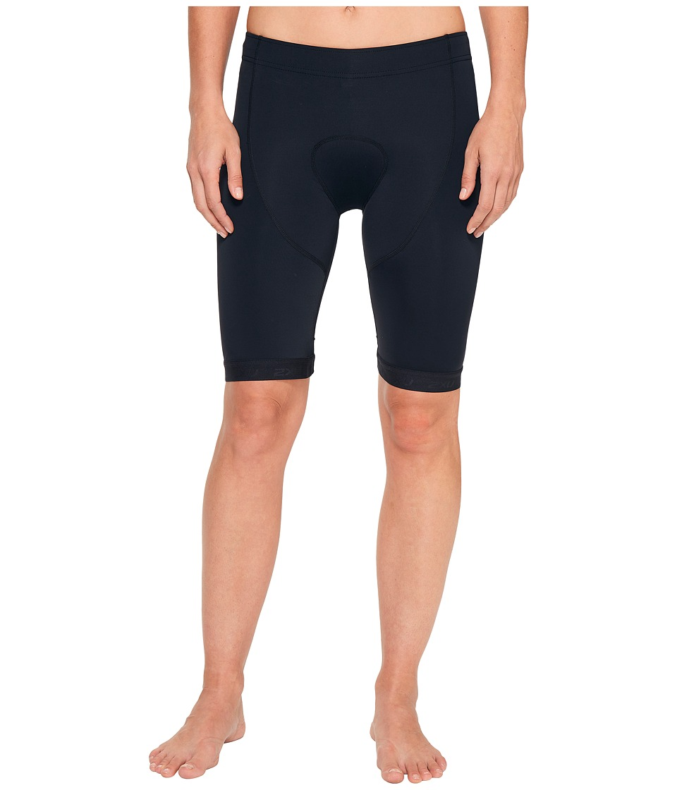 2XU - Active 8 Tri Shorts (Black/Black) Men's Shorts