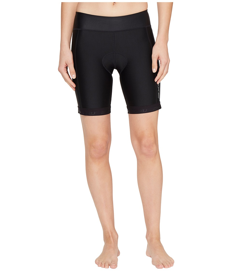 2XU - X-Vent 7 Tri Shorts (Black/Black) Women's Shorts