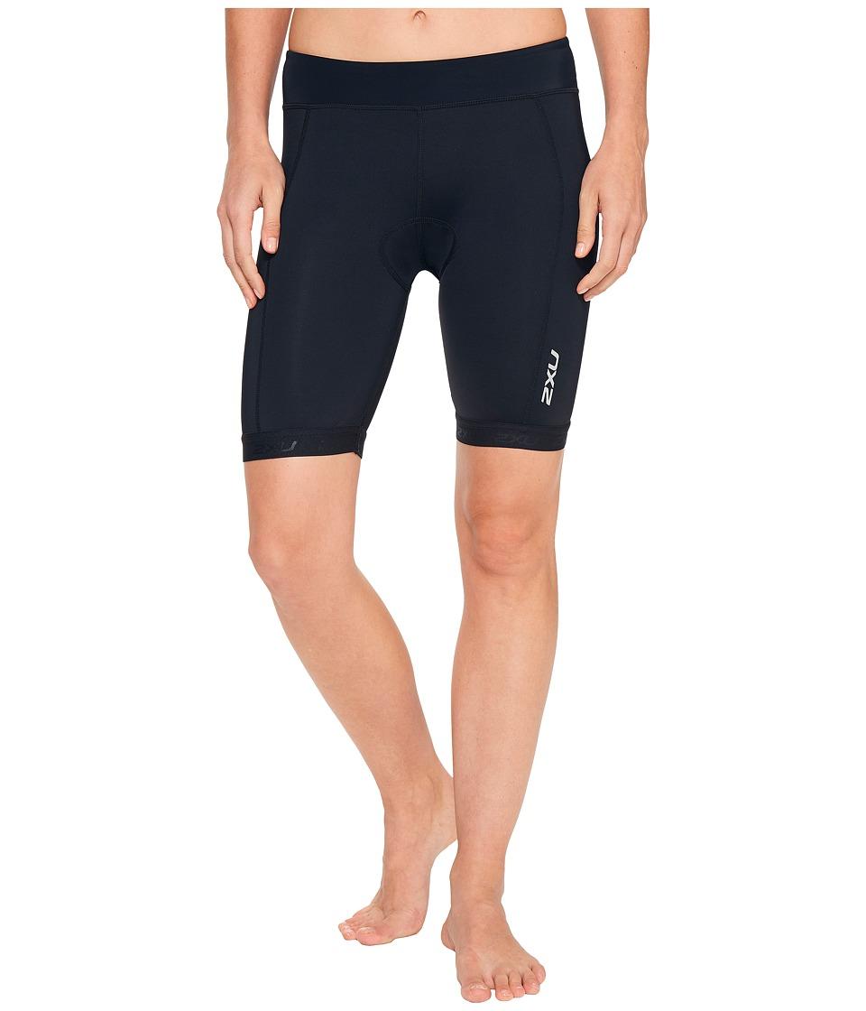 2XU - Active 7.5 Tri Shorts (Black/Black) Women's Shorts