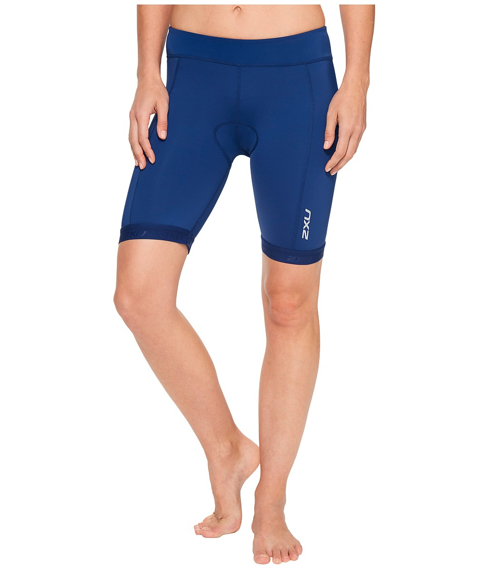2XU - Active 7.5 Tri Shorts (Navy/Navy) Women's Shorts