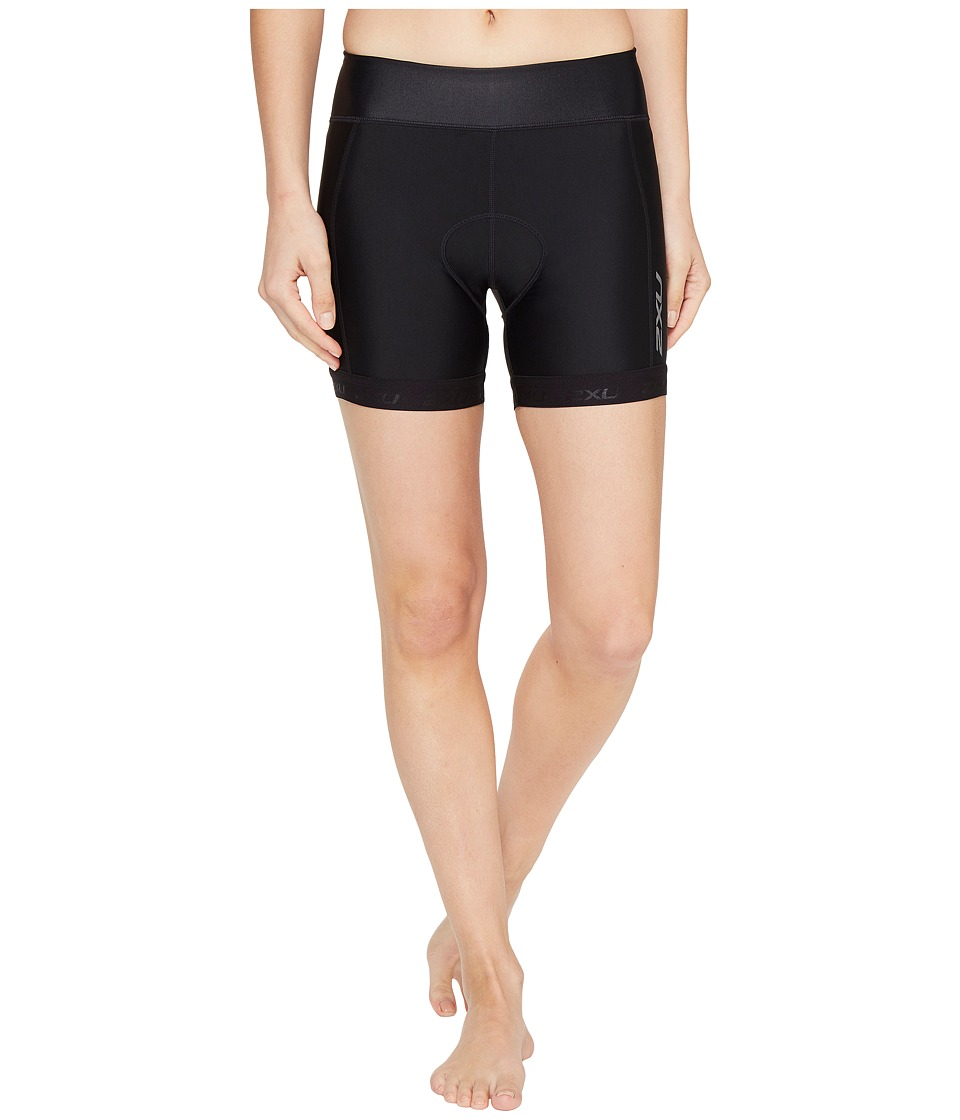 2XU - X-Vent 4.5 Tri Shorts (Black/Black) Women's Shorts