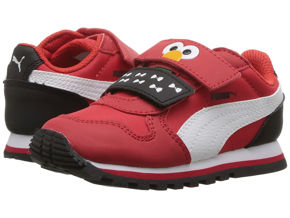 Puma Kids - St Runner Elmo Hoc V INF (Toddler) (High Risk Red/Puma White) Kids Shoes