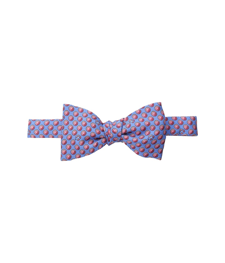 Vineyard Vines - Clay Pigeon Printed Bow Tie (Light Blue) Ties