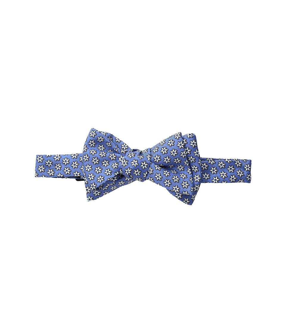 Vineyard Vines - Snowflake Geo Printed Bow Tie (Bimini Blue) Ties