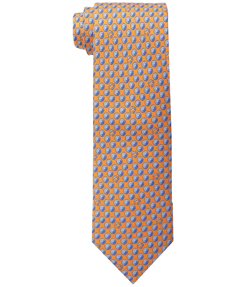 Vineyard Vines - Clay Pigeon Printed Tie (Orange) Ties