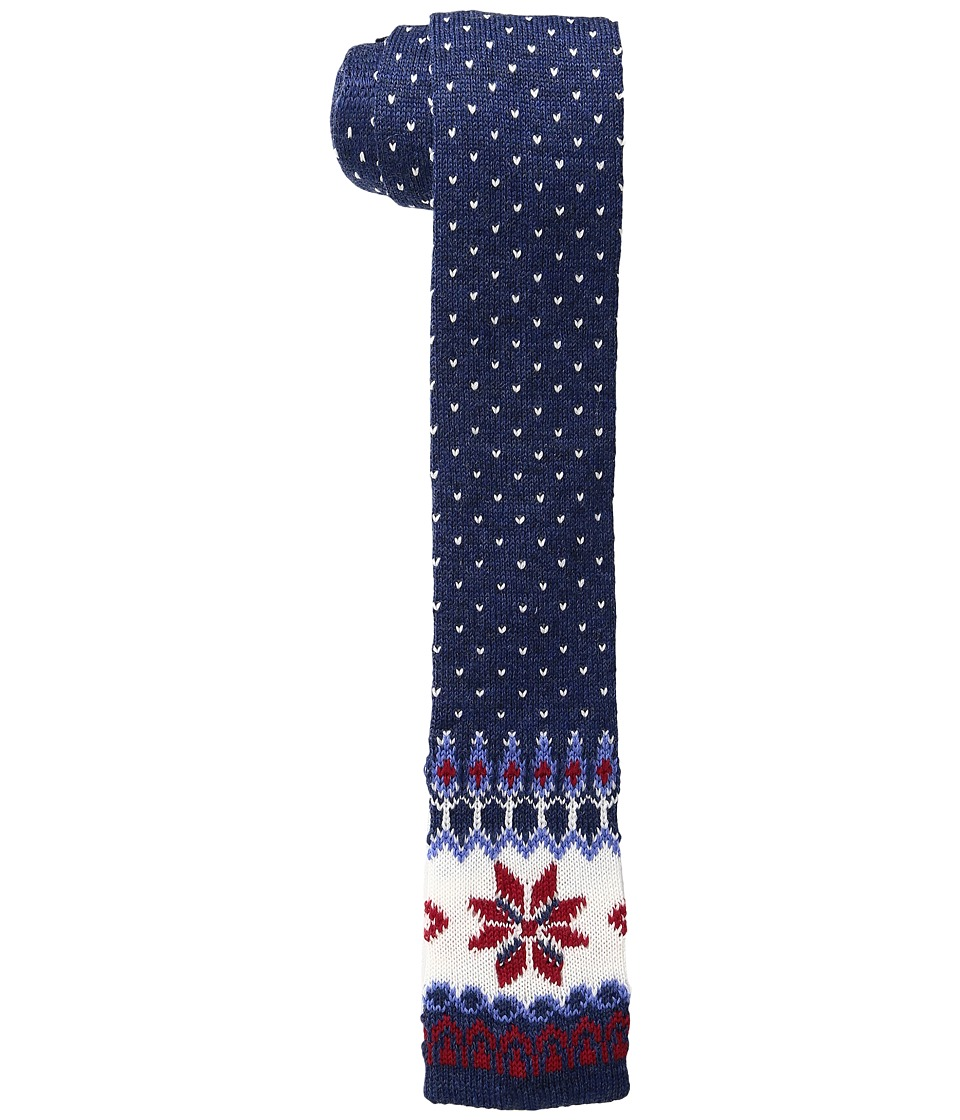 Vineyard Vines - Fair Isle Woven Tie (Blue) Ties