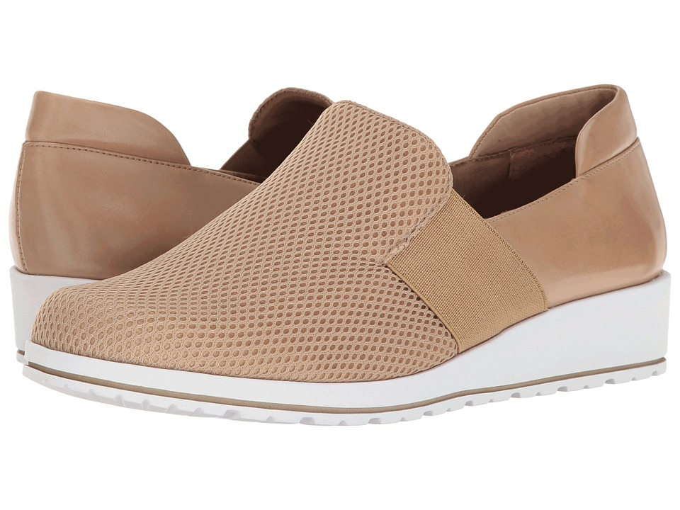 Walking Cradles - Fraley (Light Taupe Cashmere/Mesh) Women's Slip on Shoes