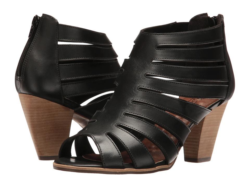 Walking Cradles Geena (Black Soft Maia) High Heels