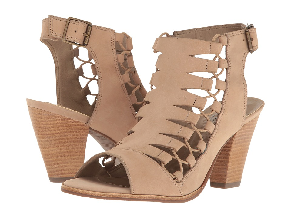 Walking Cradles Giza (Light Taupe Nubuck) High Heels