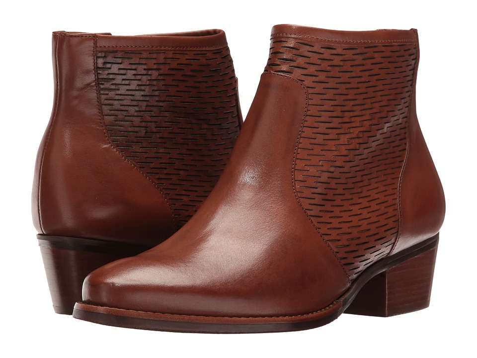 Walking Cradles - Gracie (Luggage Accordion Perfed Soft Maia) Women's Boots
