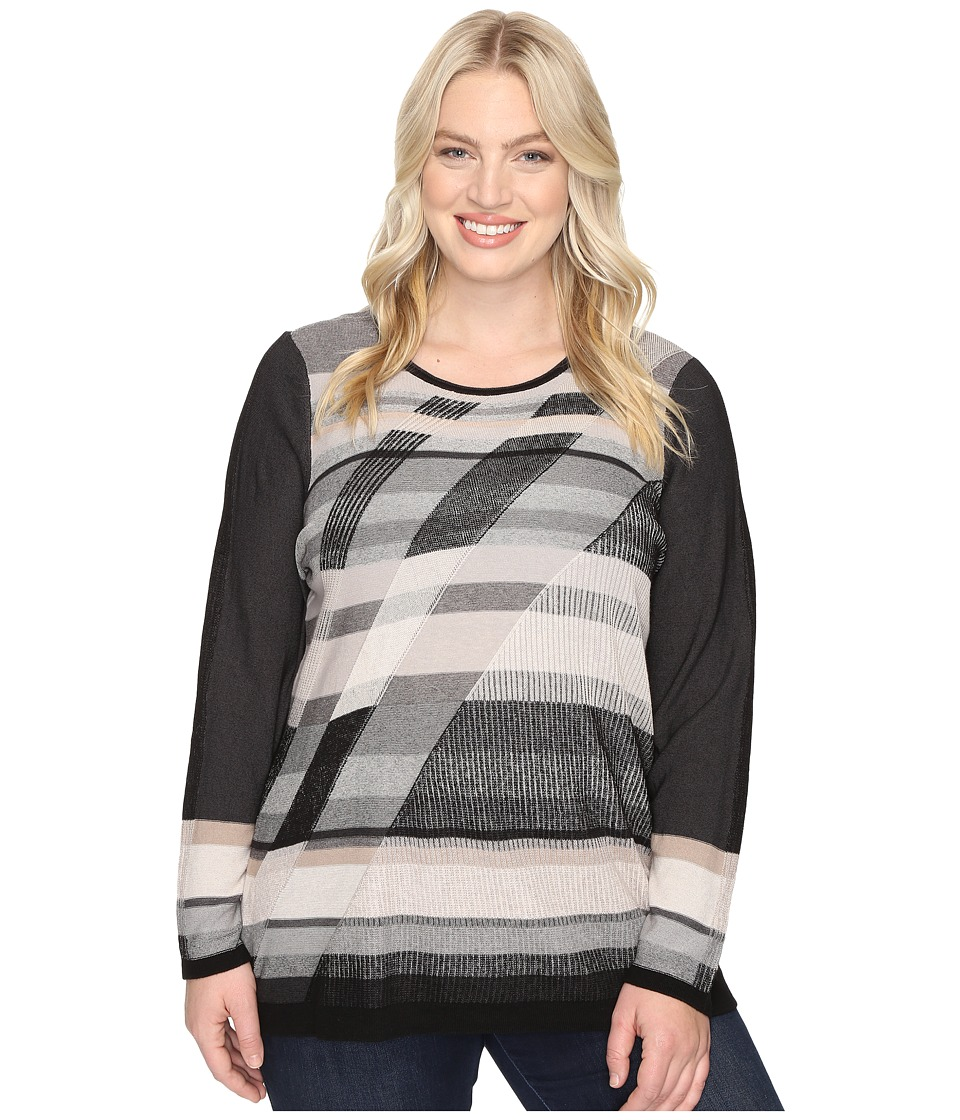 NIC+ZOE - Plus Size Spellbound Top (Multi) Women's Clothing