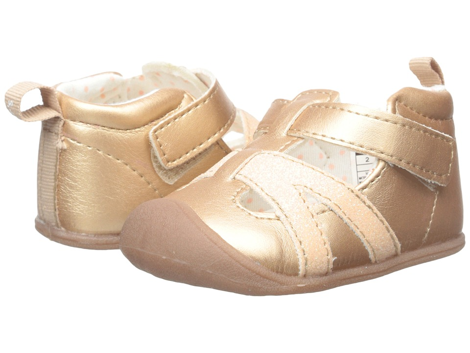 Carters - Every Step - Artemis-P4 (Infant) (Rose Gold) Girl's Shoes