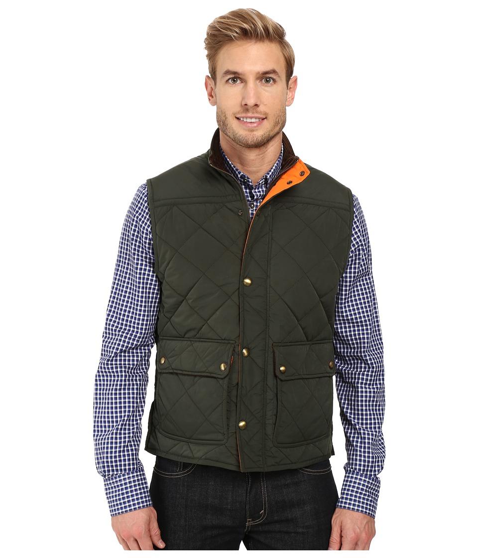 Vineyard Vines - Quilted Vest (Charleston Green) Men's Vest
