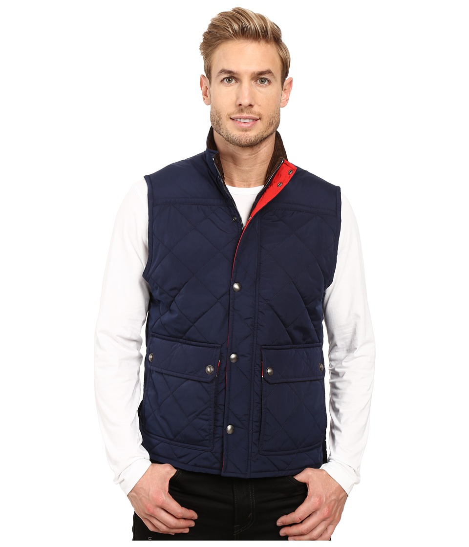 Vineyard Vines - Quilted Vest (Nautical Navy) Men's Vest