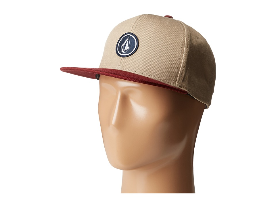 Volcom - Quarter (Dark Clay) Baseball Caps