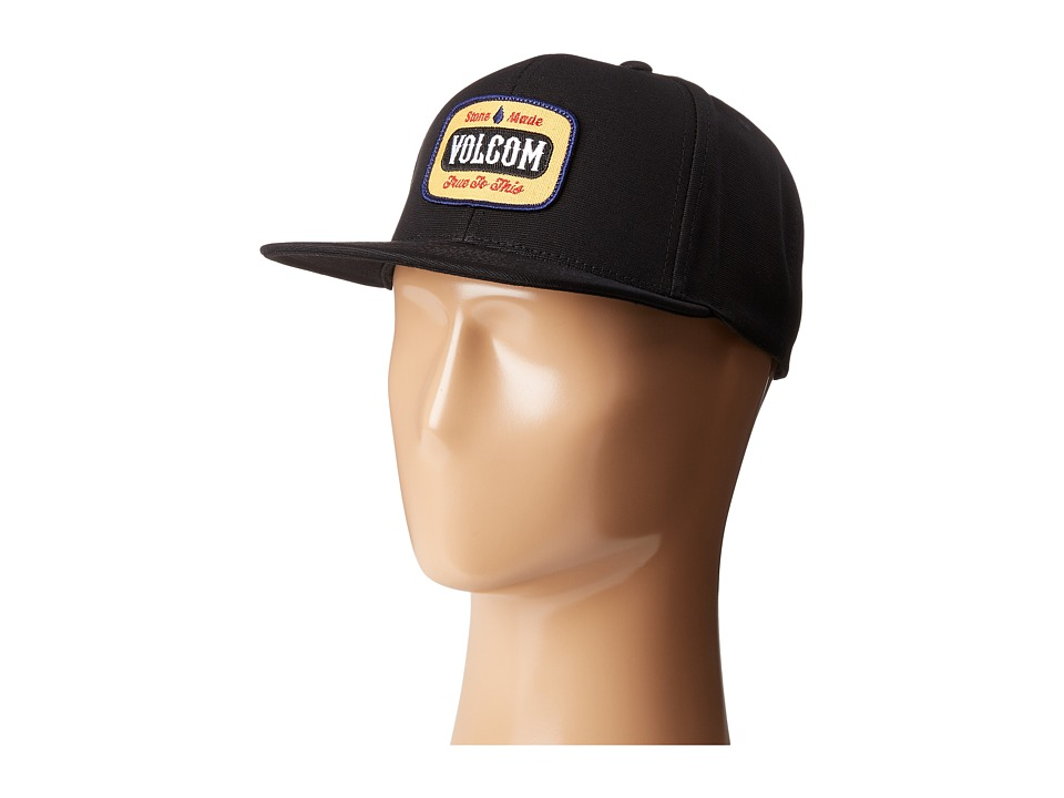 Volcom - Cresticle (Black/Black) Caps