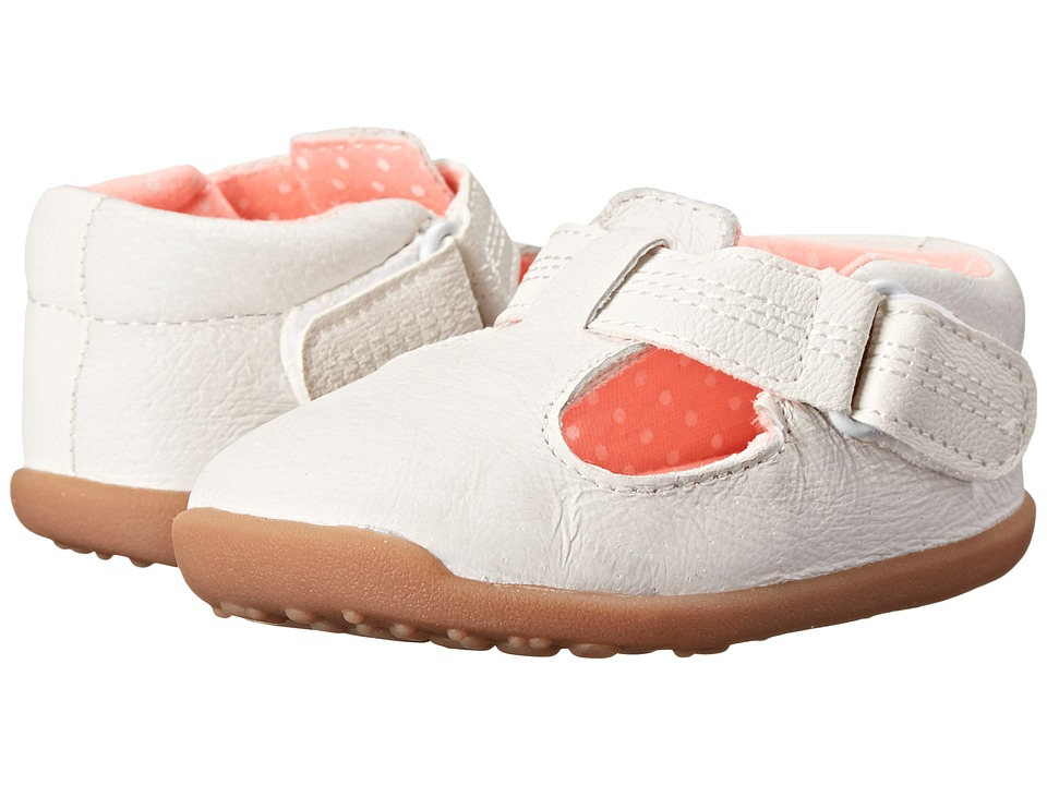 Carters - Chloe-P2 (Toddler) (White/Pink) Girl's Shoes
