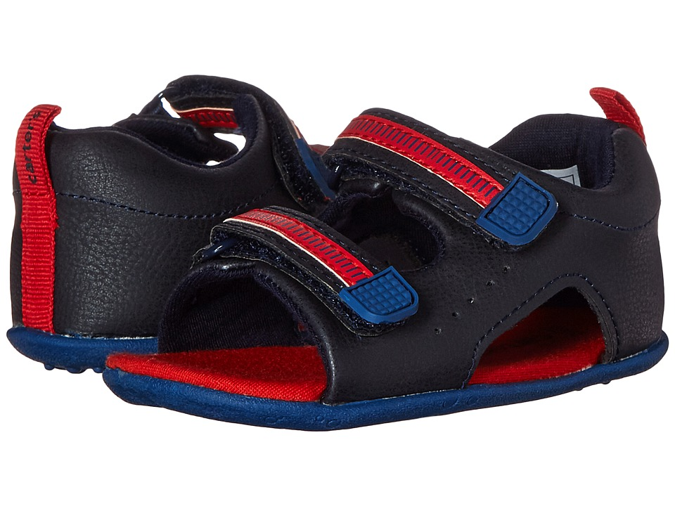 Carters - Every Step - Wilson-BS (Infant/Toddler) (Navy/Blue/Orange) Boy's Shoes