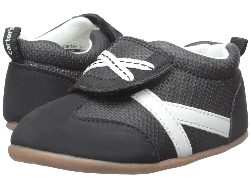 Carters - Every Step - Oldie-BS2 (Infant/Toddler) (Black) Boy's Shoes