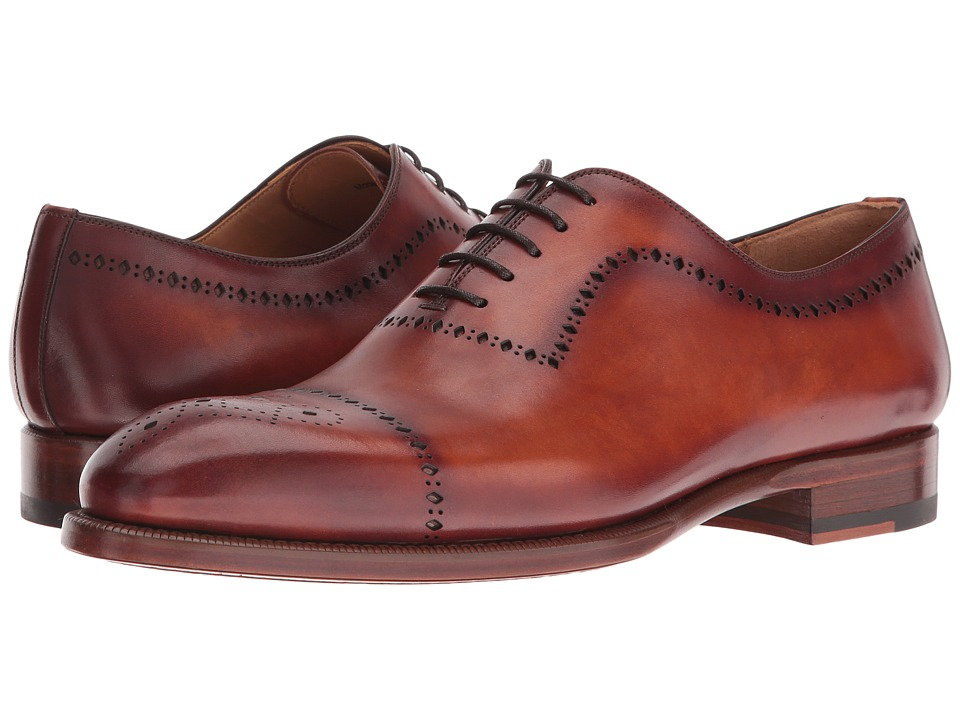 Magnanni - Oliver (Cognac 1) Men's Dress Flat Shoes