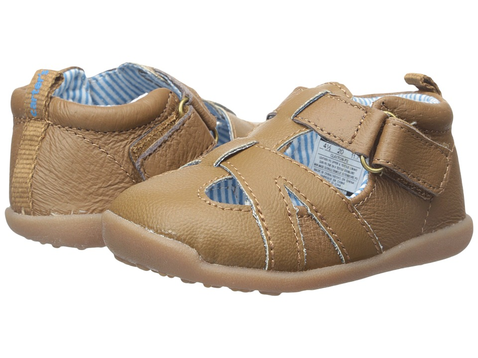 Carters - Every Step - Claxton-P4 (Toddler) (Brown) Boy's Shoes