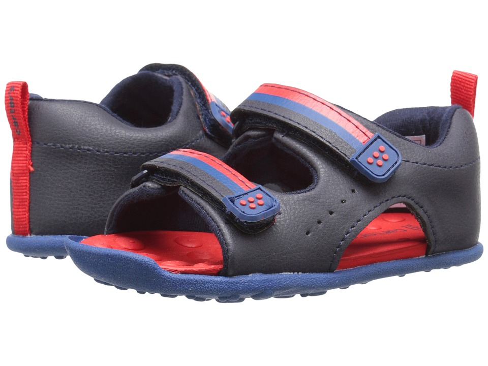 Carters - Every Step - Wilson-BW (Toddler) (Navy/Blue/Red) Boy's Shoes