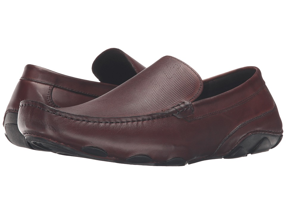 Kenneth Cole Reaction - Make a Toast (Dark Brown) Men's Slip on Shoes