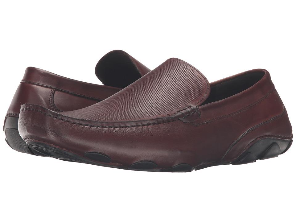 Kenneth Cole Reaction - Make a Toast (Dark Brown) Men's Slip on Shoes