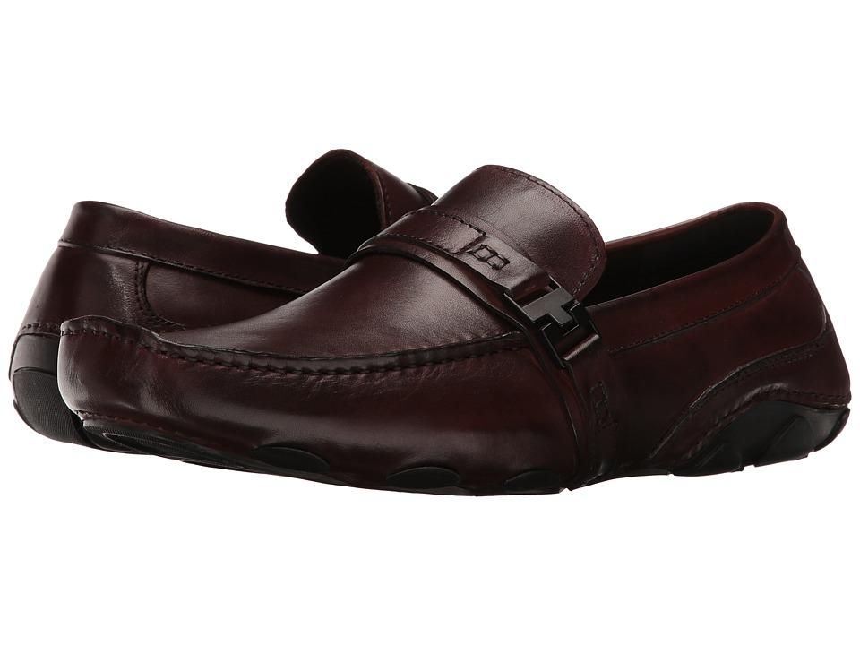 Kenneth Cole Reaction - Toast 2 Me (Dark Brown) Men's Slip on Shoes