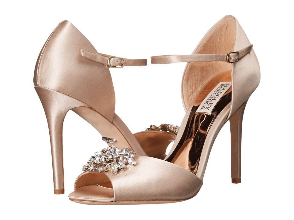 Badgley Mischka - Bandera (Nude Satin) High Heels