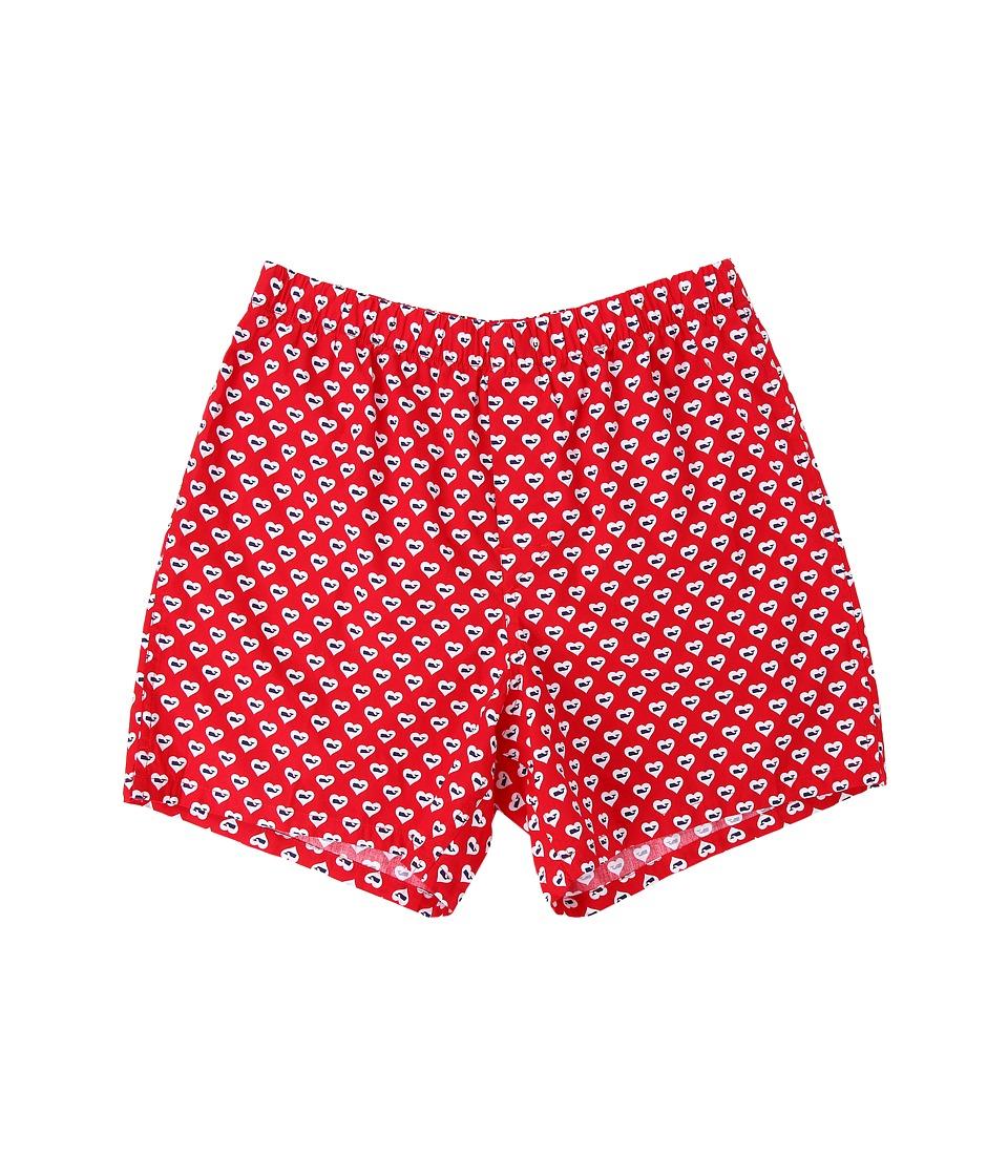 Vineyard Vines - Love Whale Boxer (Tomato Check) Men's Underwear