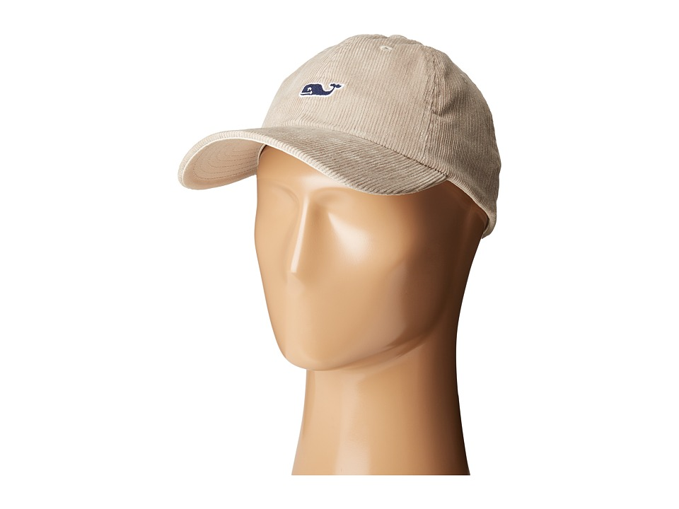 Vineyard Vines - Corduroy Baseball Hat (Khaki) Baseball Caps