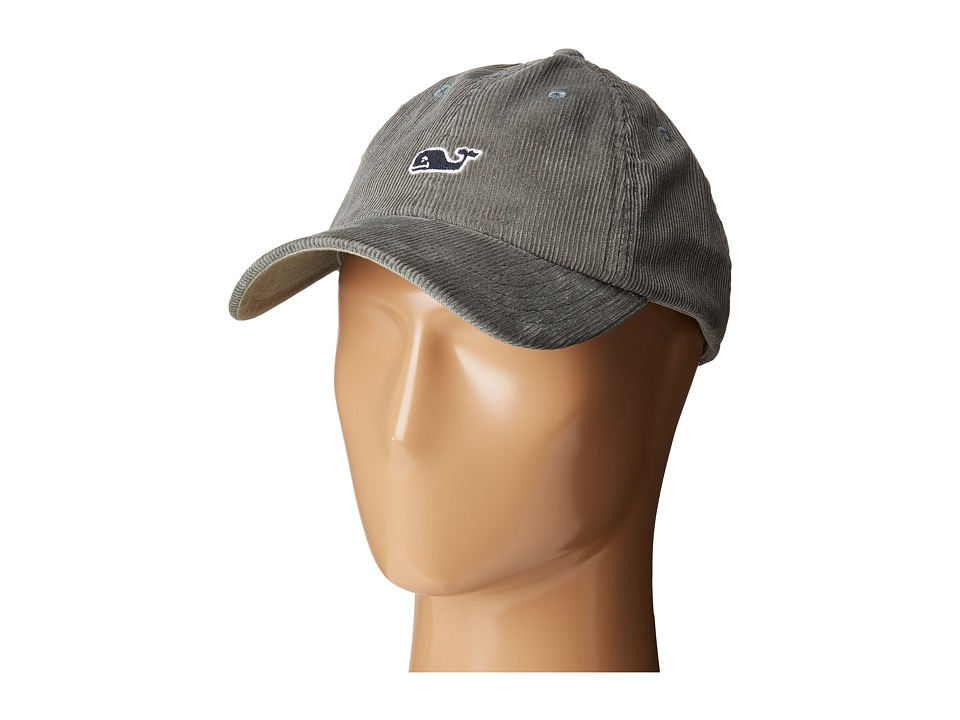 Vineyard Vines - Corduroy Baseball Hat (Spanish Moss) Baseball Caps
