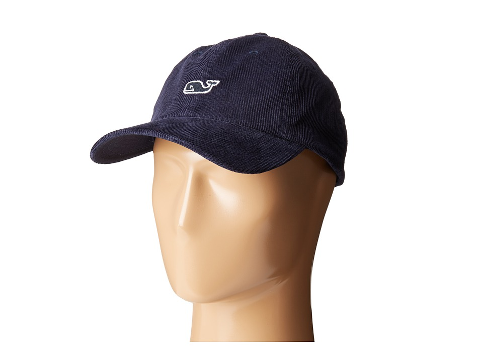 Vineyard Vines - Corduroy Baseball Hat (Pacific Blue) Baseball Caps