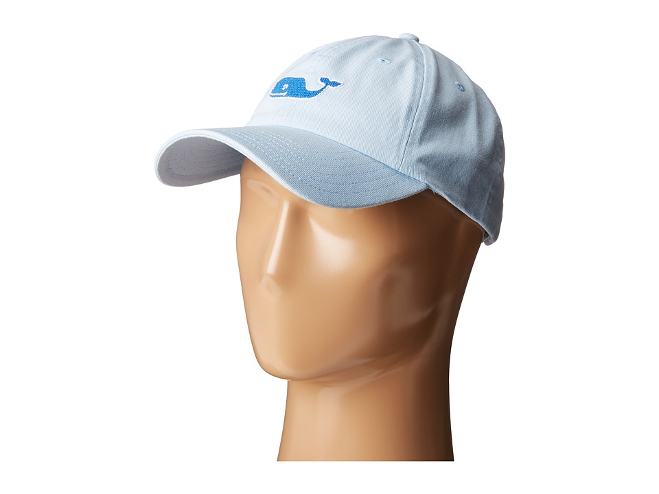 Vineyard Vines - Needlepoint Whale Hat (Surf Blue) Caps