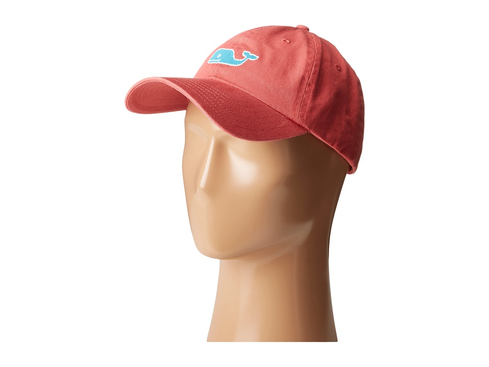 Vineyard Vines - Needlepoint Whale Hat (Jetty Red) Caps