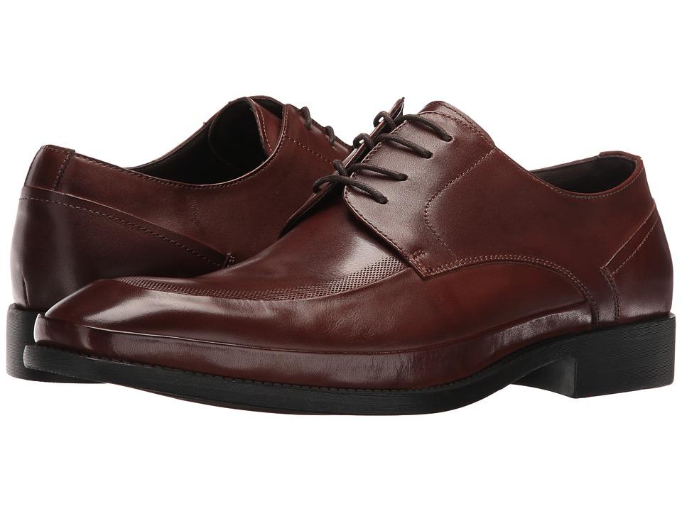 Kenneth Cole Reaction - Brick Road (Cognac) Men's Lace up casual Shoes