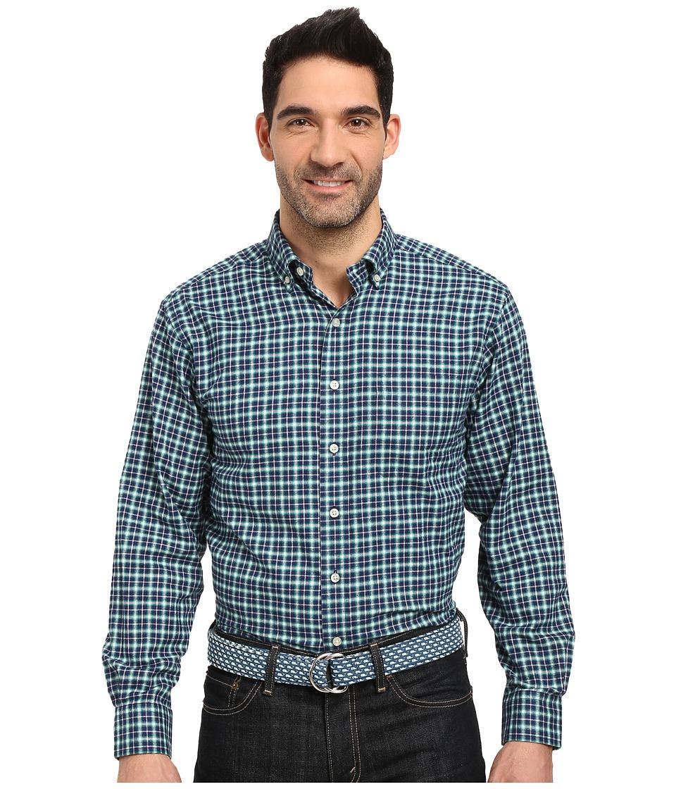 Vineyard Vines - Algonquin Plaid Classic Murray Shirt (Holly) Men's Clothing