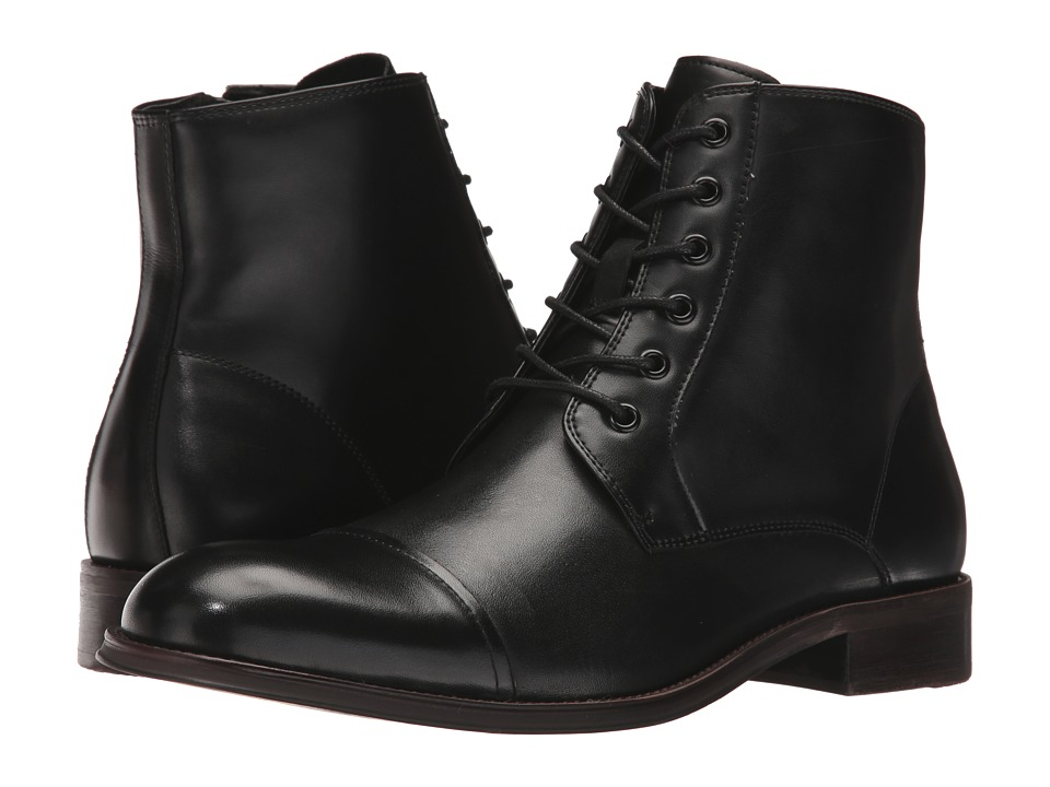 Kenneth Cole Reaction - Direct Route (Black) Men's Lace up casual Shoes