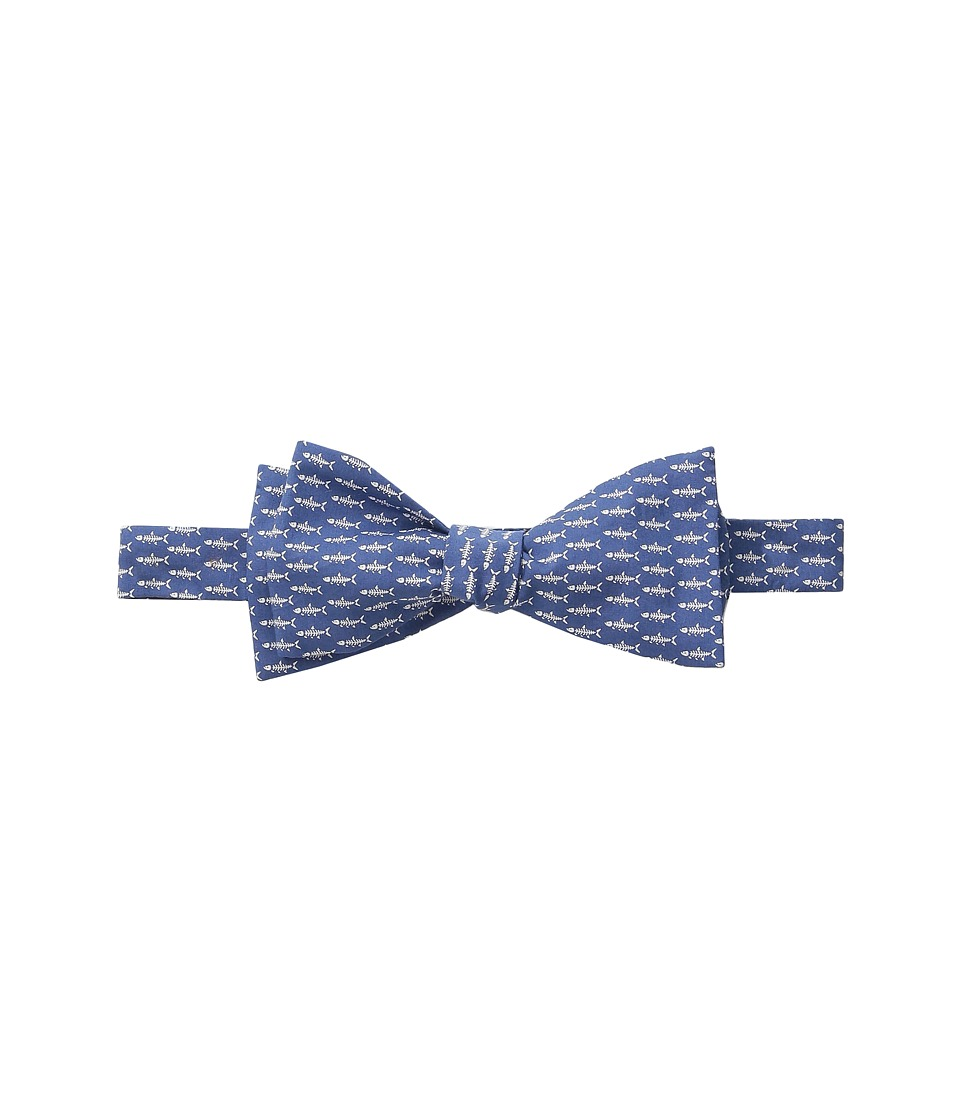Vineyard Vines - Fish Bone Woven Bow (Moonshine) Ties